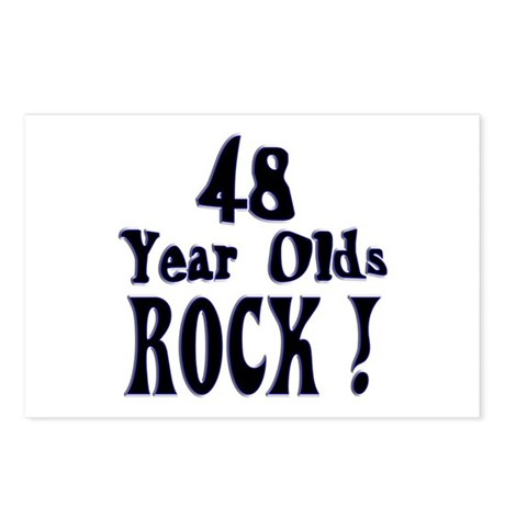 48 Year Olds Rock ! Postcards (Package of 8)