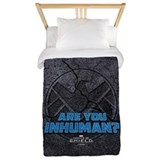 Marvel agents shield Twin Duvet Covers