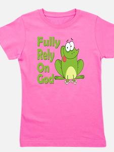 Unique Christian faith Girl's Tee