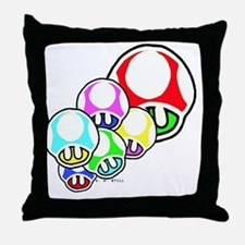 Cute Super mario Throw Pillow