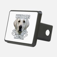 White labs matter Hitch Cover