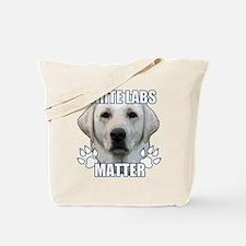 White labs matter Tote Bag