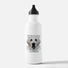 White labs matter Water Bottle