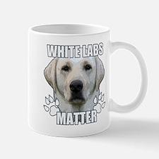White labs matter Small Small Mug