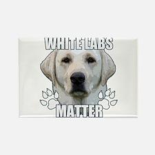 White labs matter Rectangle Magnet