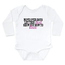 Cute Sayings Long Sleeve Infant Bodysuit
