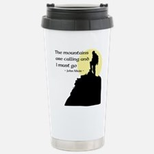 Unique Mountains Travel Mug