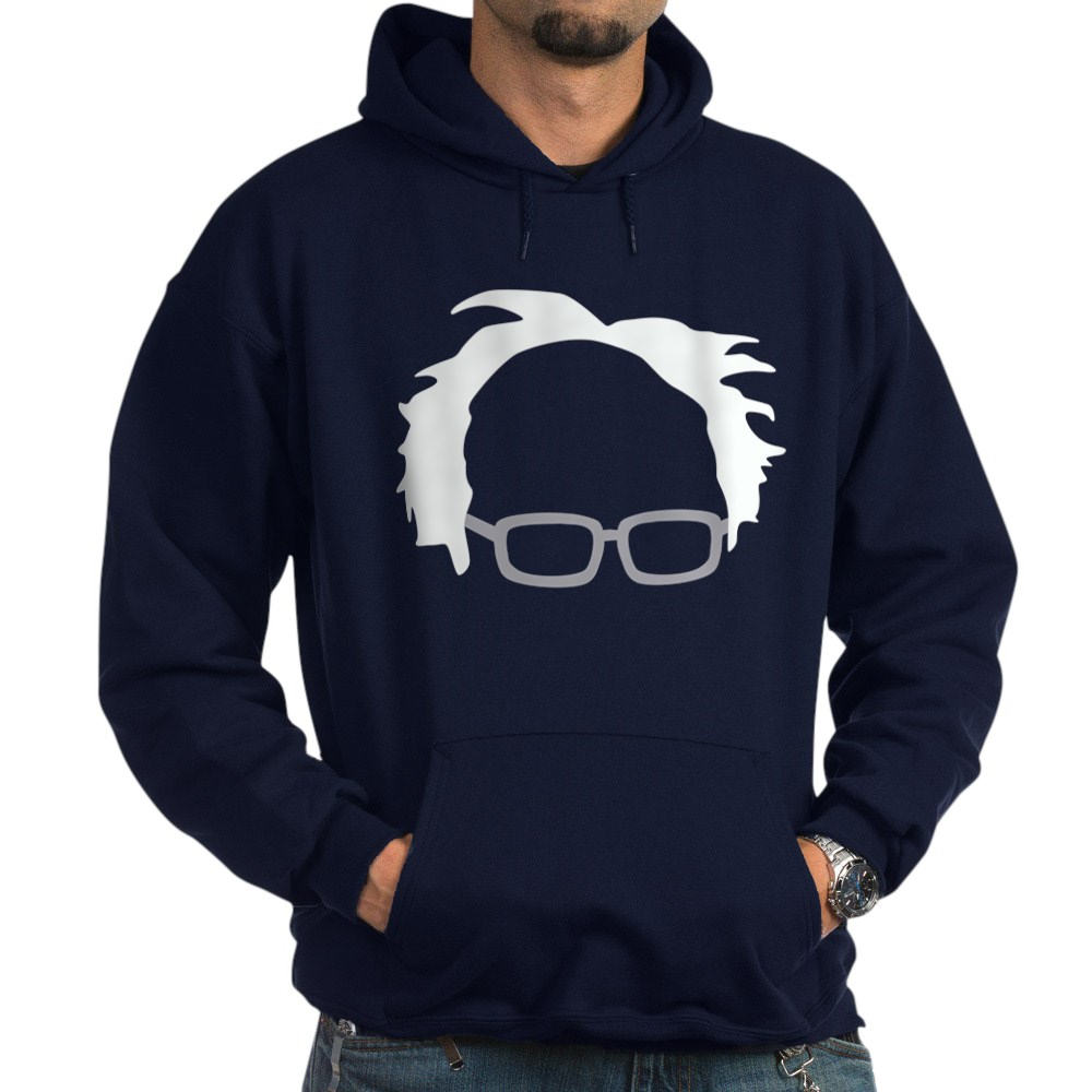CafePress Pullover Hoodie Bernie Sanders Hair
