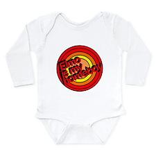 Unique My parents Long Sleeve Infant Bodysuit