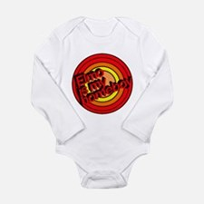Funny Elmo Long Sleeve Infant Bodysuit
