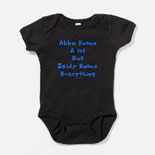 Jewish grandfather Baby Bodysuit