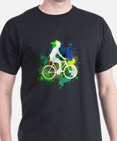Unique Cycling male T-Shirt