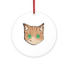 Chibi Crookedstar Round Ornament