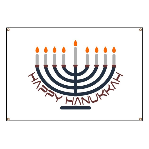 Happy Hanukkah Banner by ozdilh