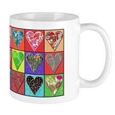 Heart Quilt Mug