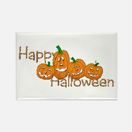 Happy Halloween 2 Rectangle Magnet