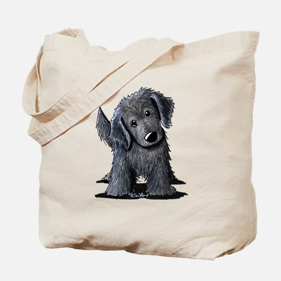 KiniArt Westie Rabbit Tote Bag