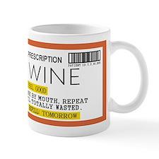 Wine Prescription Mugs