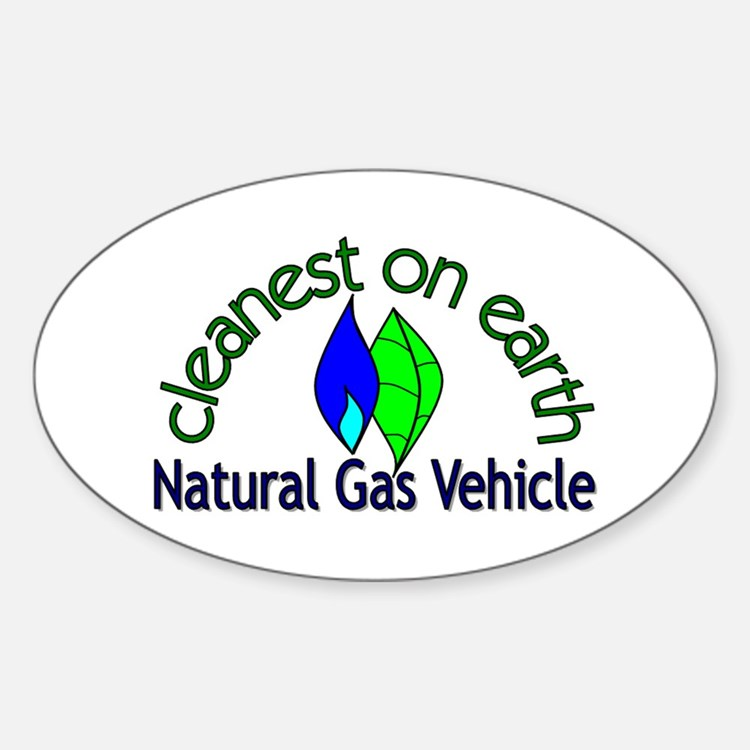 Cute Natural gas vehicle Decal
