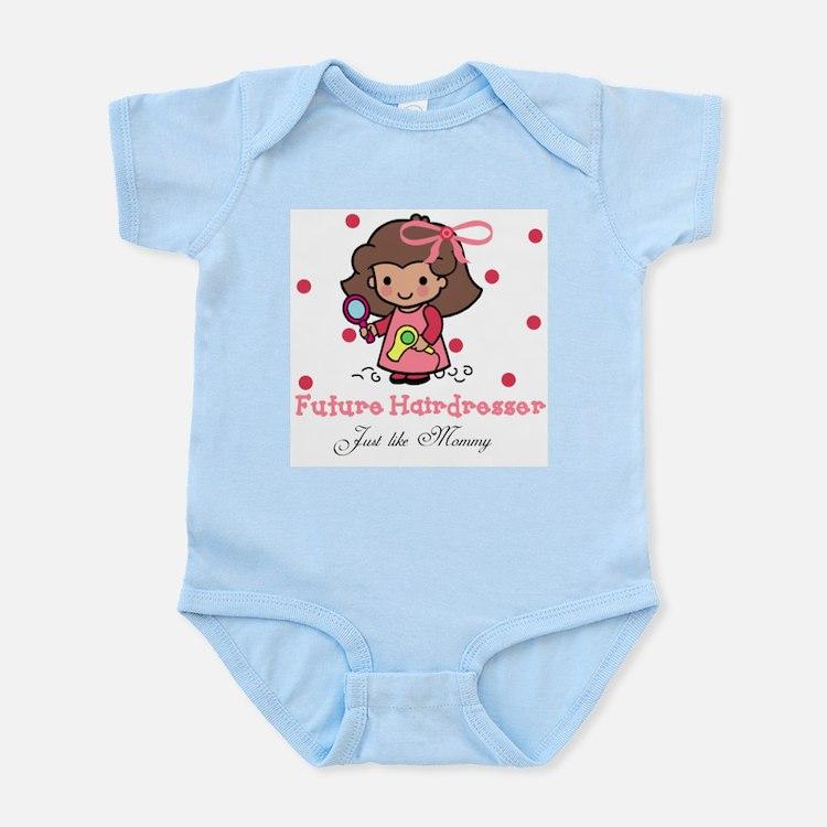 Cute Hairdresser mom Infant Bodysuit