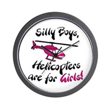 Silly Boys Wall Clock