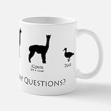 Unique Llamas with Mug