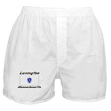 Lexington Massachusetts Boxer Shorts