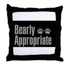 Funny Gay bears Throw Pillow