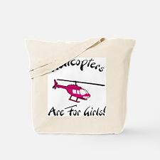 Heli for Girls Tote Bag