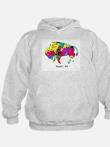Cute Buffalo Hoodie