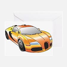 Cute Bugatti Greeting Card