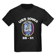 USS Iowa BB 61 T