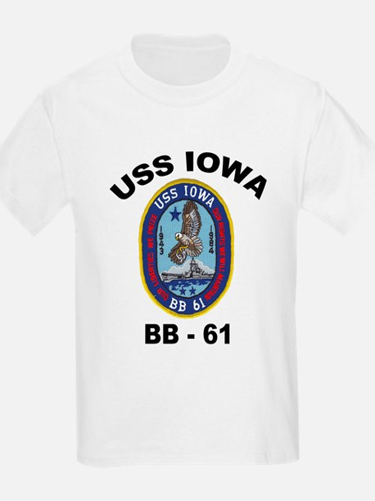 USS Iowa BB 61 T-Shirt