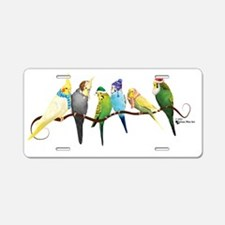 Cute Parrot christmas Aluminum License Plate