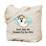 Halloween Bootiful Ghost Tote Bag