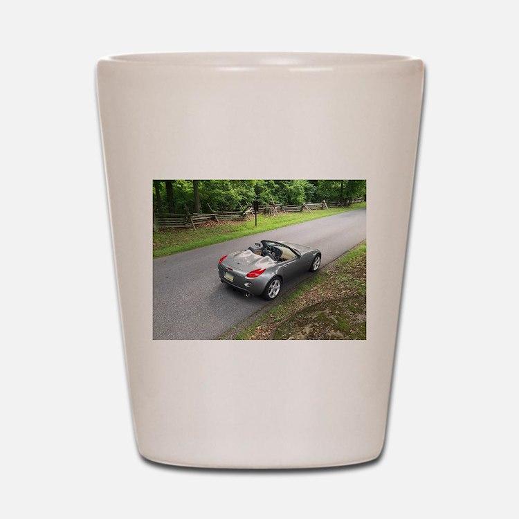 2006 Pontiac Solstice Shot Glass