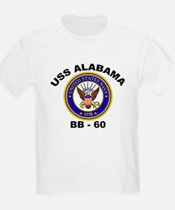 USS Alabama BB 60 T-Shirt