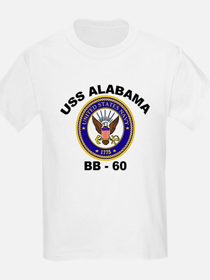 USS Alabama BB 60 T-Shirt