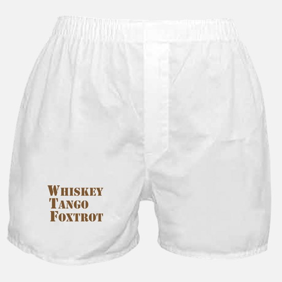 WTF Boxer Shorts