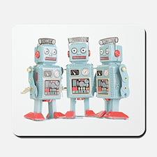 Vintage Robots Mousepad