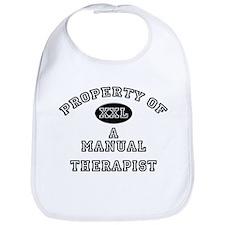 Property of a Manual Therapist Bib