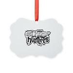Uufoh Grunge Picture Ornament