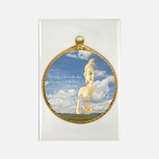 Buddha Sky Rectangle Magnet