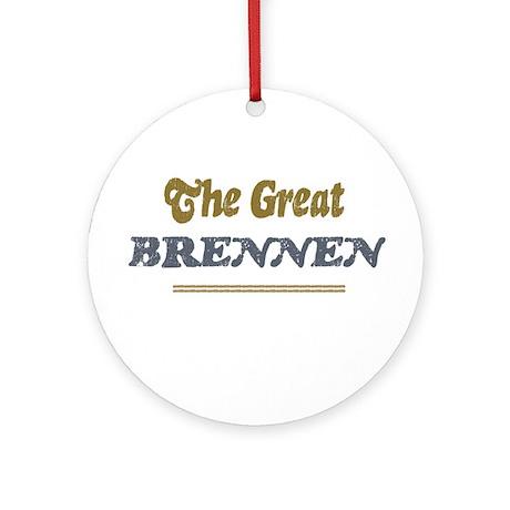 Brennen Ornament (Round)