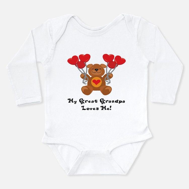 Cute Valentines infant Long Sleeve Infant Bodysuit