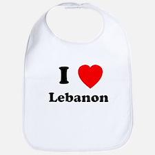 I heart Lebanon Bib