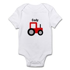 Cody - Red Tractor Infant Bodysuit