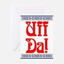 Cute Danish Greeting Card