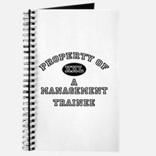 Property of a Management Trainee Journal