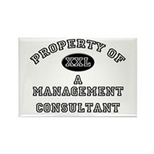 Property of a Management Consultant Rectangle Magn